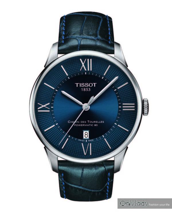 图7:天梭杜鲁尔系列男士腕表