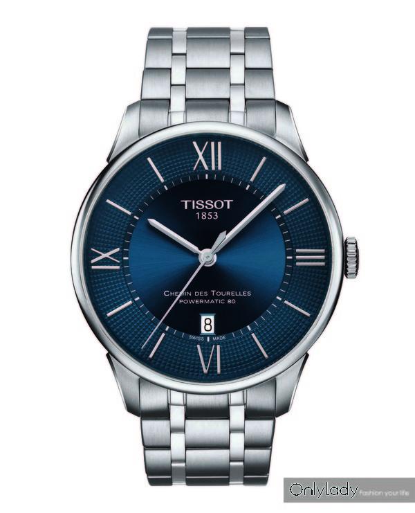 图8:天梭杜鲁尔系列男士腕表