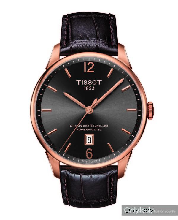 图10:天梭杜鲁尔系列男士腕表