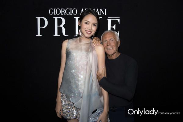 Giorgio Armani Privé 2018-19秋冬系列秀场VIP
