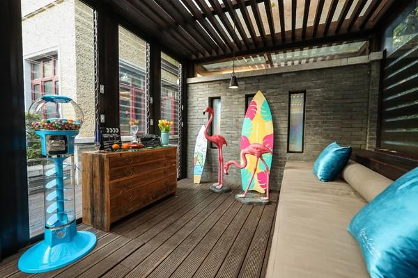 Atelier Cologne欧珑加州盛夏主题屋,感受时髦海风与夏日沙滩的闲适