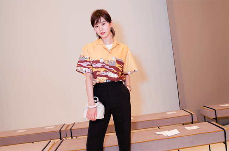看了刘诗诗的新造型才知道 原来黑裤+白鞋这么好看!
