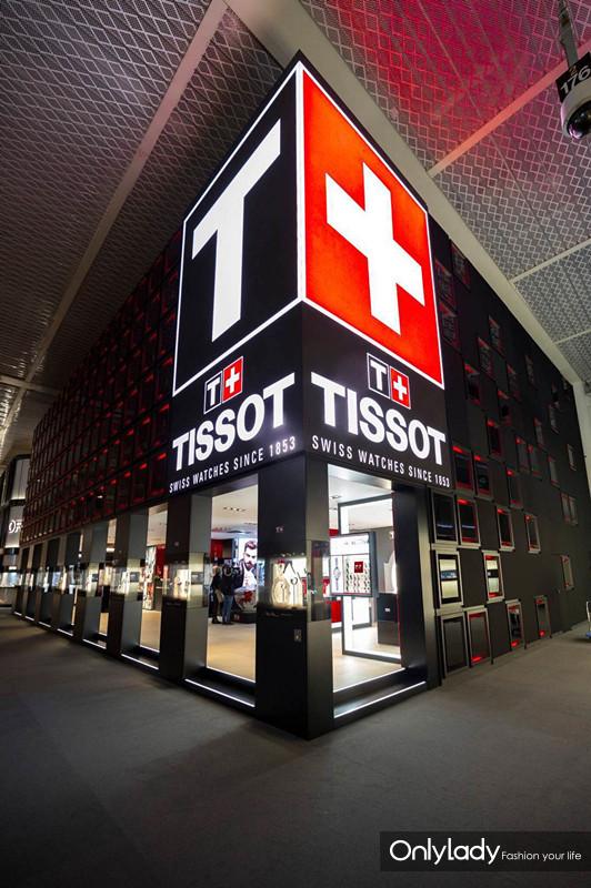 图2:天梭表巴塞尔展台外景