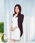 【高清美图】赵薇示范春日时髦穿搭!黑白拼接优雅得体