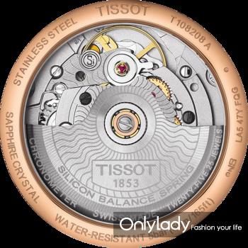 图8:天梭宝环系列腕表表后盖