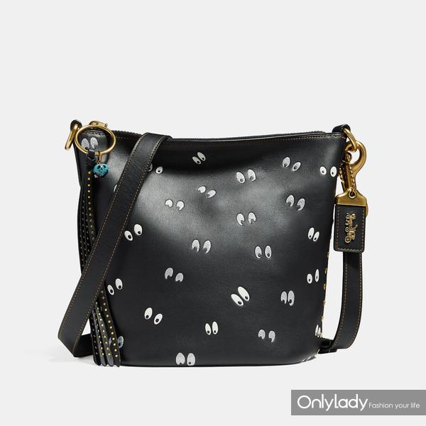 DISNEY X COACH幽灵眼印花DUFFLE 20手袋