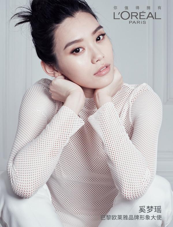 奚梦瑶正式成为巴黎欧莱雅品牌形象大使