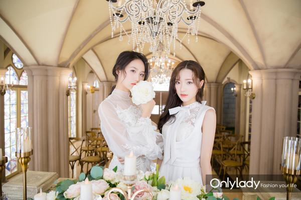 """闺蜜婚纱照就要这样拍!GNZ48的她们美得""""摄人心魂""""!"""