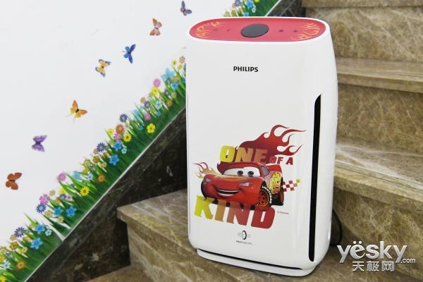 别让孩子童年霾上阴影 飞利浦Disney限量款空气净化器试用评测