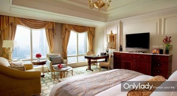 广州富力丽思卡尔顿酒店客房 guest room
