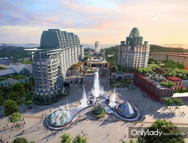 新加坡圣淘沙名胜世界全景图