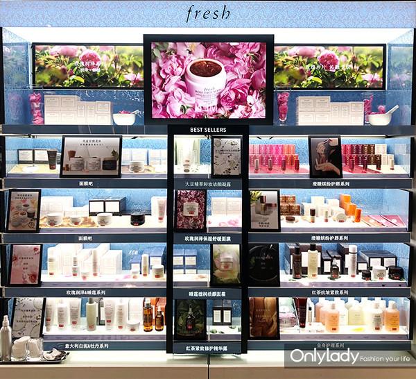 Fresh馥蕾诗正式入驻丝芙兰第50家门店