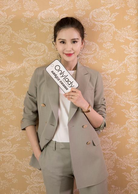 """OnlyLady专访刘诗诗:保持身材要""""少吃多餐"""",提到北京美食却停不下来!"""