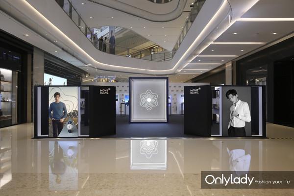 万宝龙高级制表巡展重庆站展厅