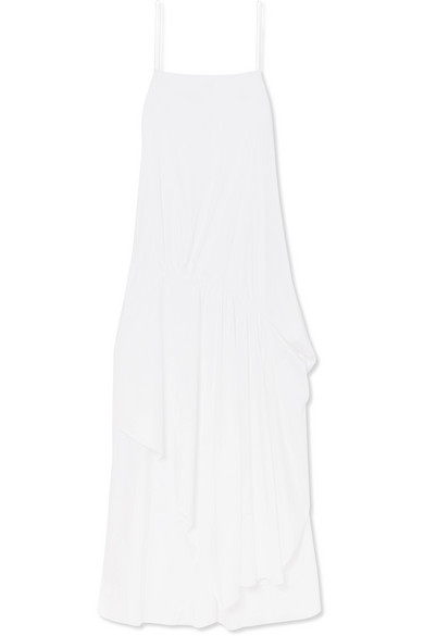 ESTEBAN CORTAZAR 缩褶不对称棉质混纺府绸连衣裙 RMB 4,500
