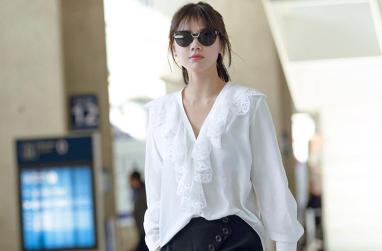 没有一件像样的真丝绸缎衫还怎么做漂亮姐姐?
