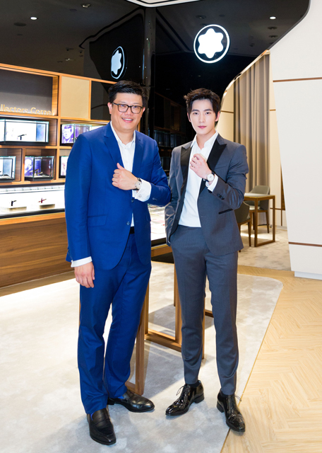 万宝龙携手品牌大使杨洋揭幕高级制表巡展重庆站