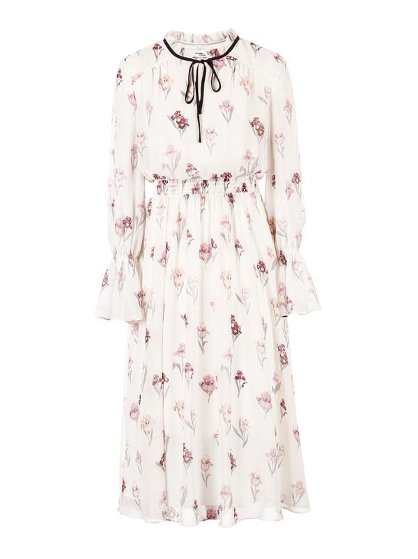 VERO MODA 系带装饰喇叭袖印花连衣裙 RMB 699