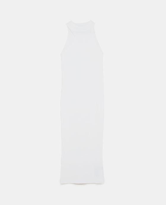 ZARA 露肩罗纹连衣裙 RMB 279