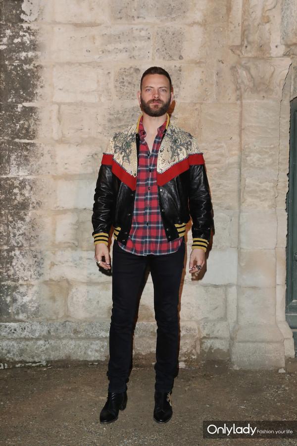 Alessandro Borghi@Gucci 2019 Cruise Fashion Show