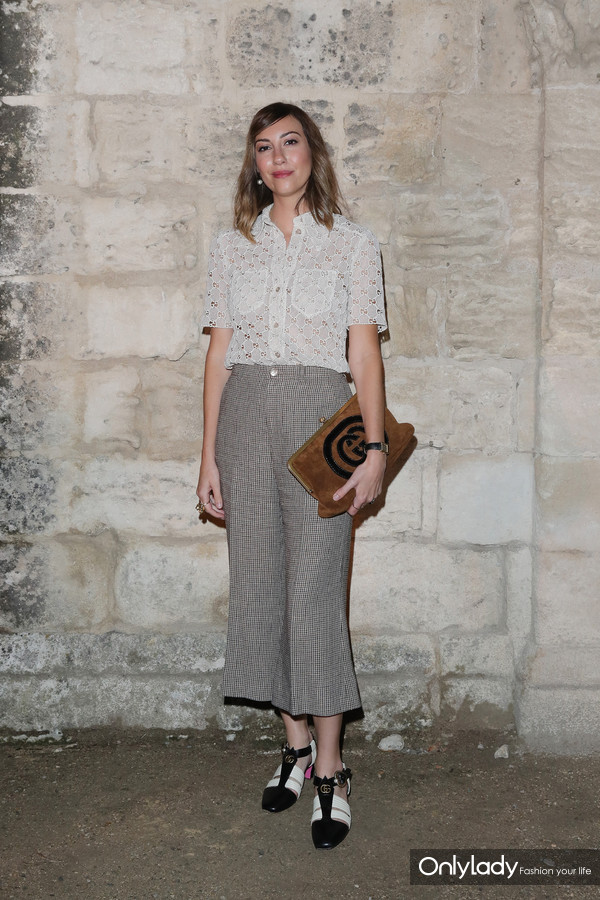 Gia Coppola@Gucci 2019 Cruise Fashion Show