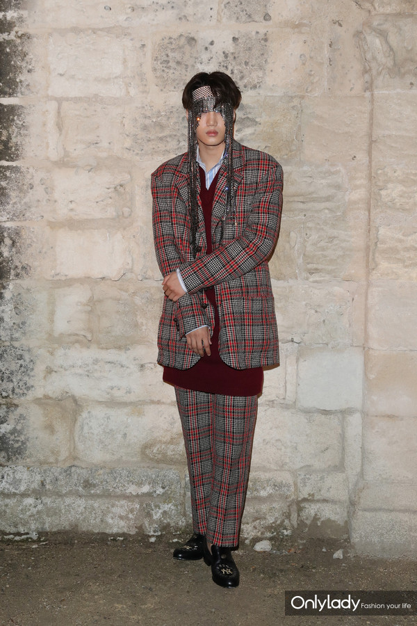 Kai@Gucci 2019 Cruise Fashion Show