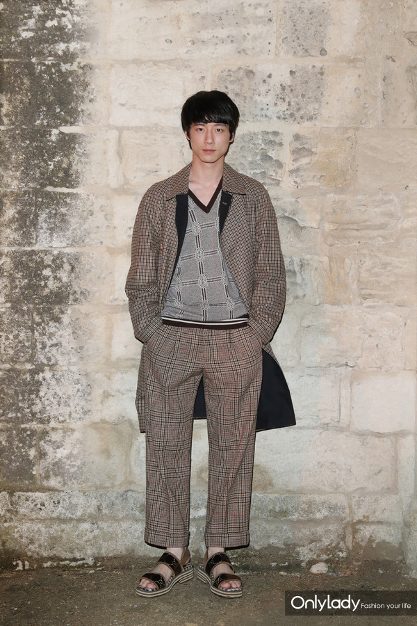 Kentaro Sakaguchi@Gucci 2019 Cruise Fashion Show