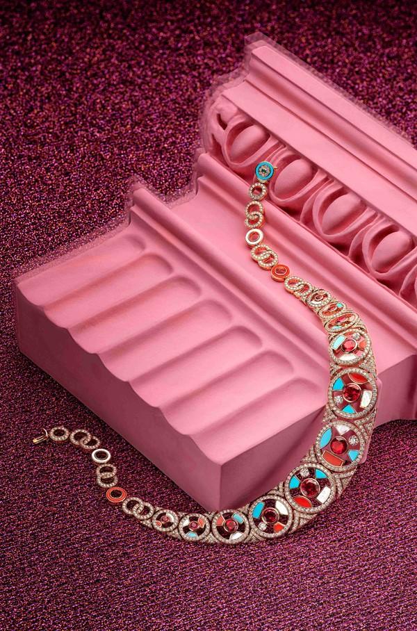 宝格丽Wild Pop高级珠宝系列Geometries珠宝