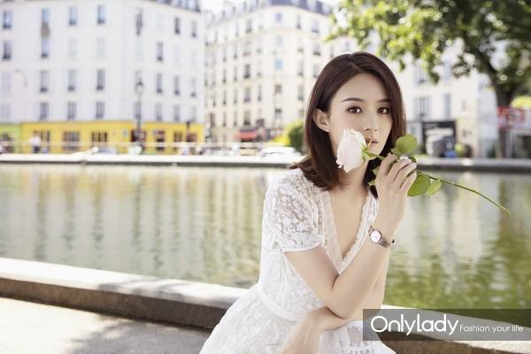 1-浪琴表携手赵丽颖揭幕全新七夕大片