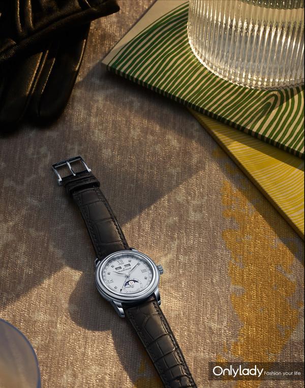 2. 宝珀Blancpain月亮美人全历月相腕表