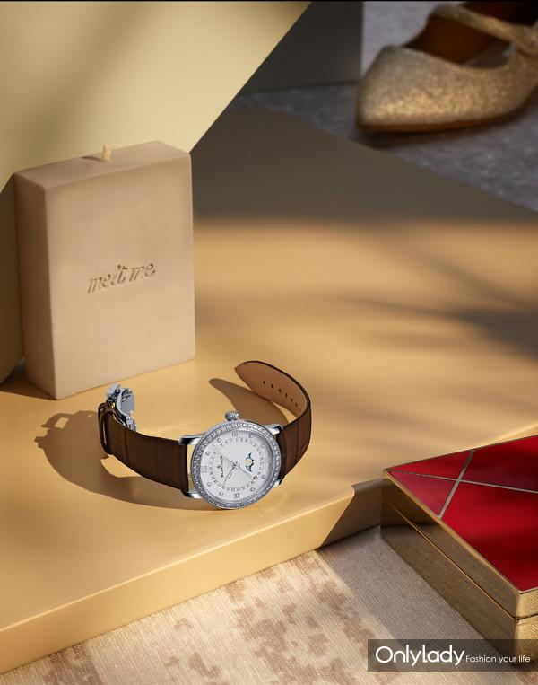 5. 宝珀Blancpain月亮美人日期指示腕表