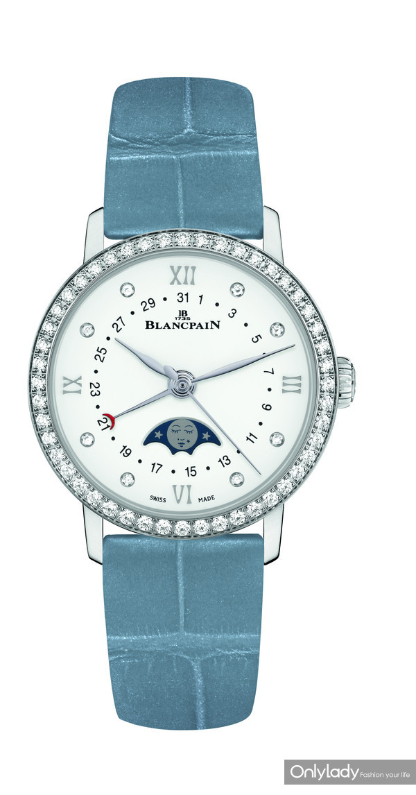 3. 宝珀Blancpain月亮美人日期指示腕表
