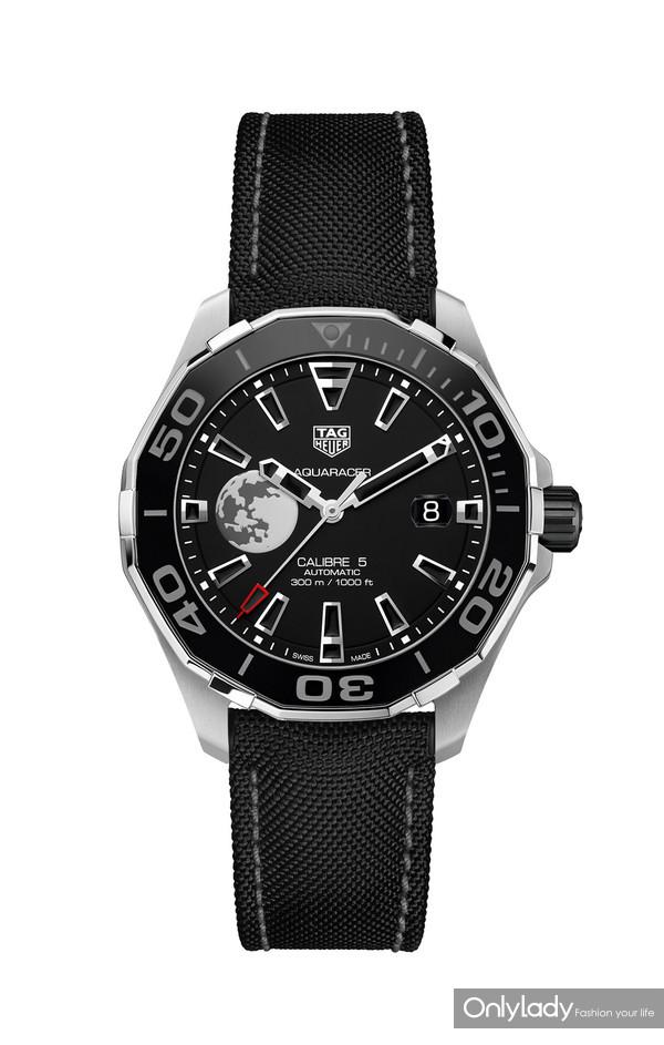 泰格豪雅竞潜系列Calibre 5 CLEP特别款腕表
