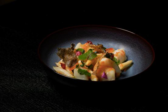 Wok-fry Chilean sea bass with pickled kumquat 金桔深海鲈鱼