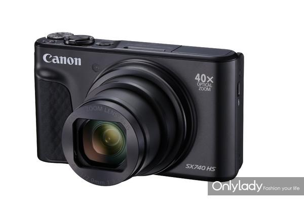 佳能PowerShot SX740 HS小型数码相机(黑色款)