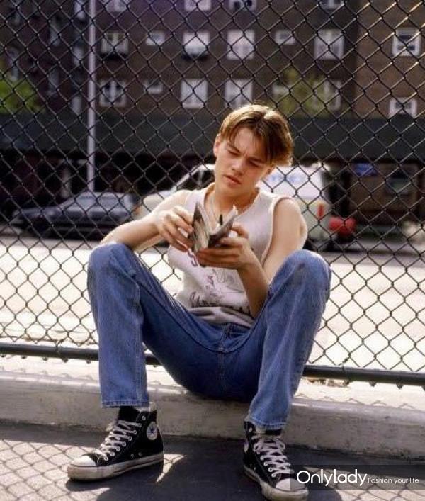Leonardo DiCaprio in The Basketball Diaries (1995)