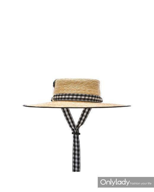 lola-hats-Black-White-Gingham-For-Fwrd-Zorro-Hat