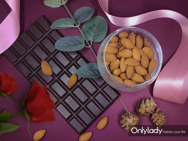 图1:加州巴旦木+黑巧克力,有效改善心血管疾病相关的危险因素,保护心脏健康