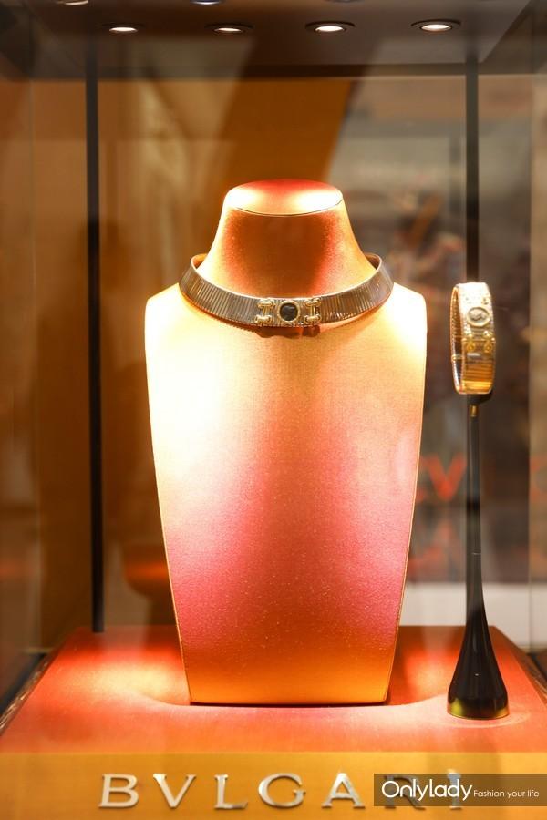 宝格丽古董典藏系列Tubogas珠宝
