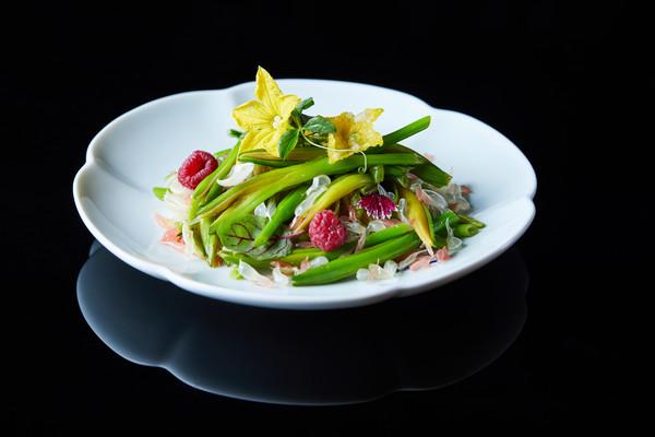 金针菜沙律 Daylily salad