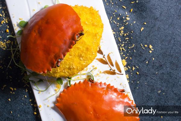 金阁炸酿蟹盖
