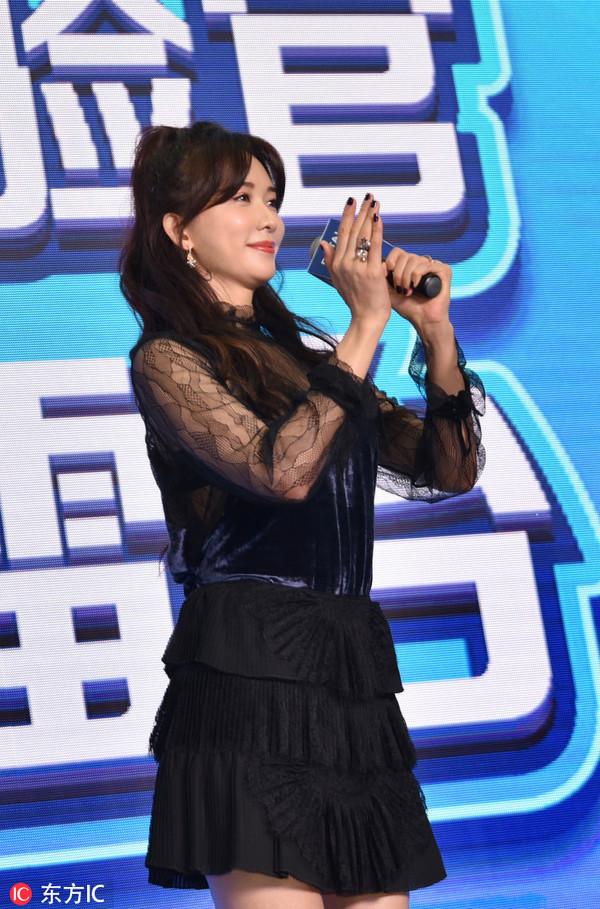 2018年11月8日下午,四川成都,林志玲作为某产品代言人亮相成都某商场。