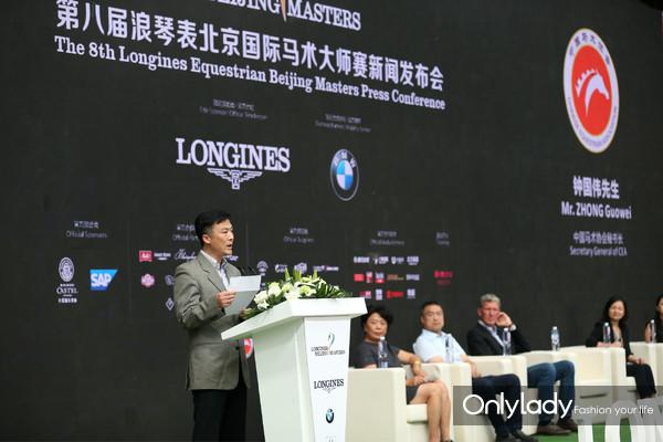 -中国马术协会秘书长钟国伟先生