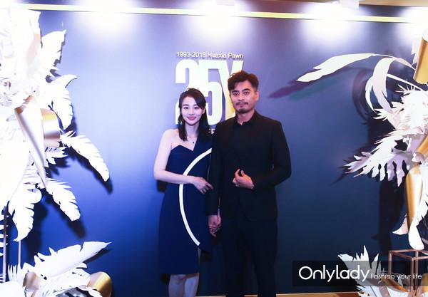 著名影星陈龙先生、章龄之女士1
