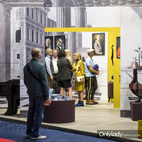 图片说明八:M&O巴黎时尚家居设计展展览现场一