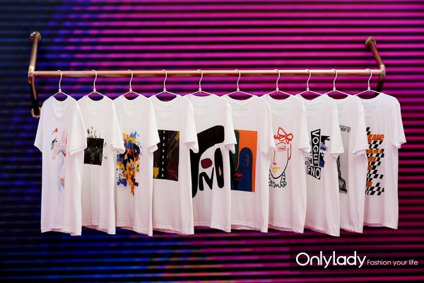 十个中国独立设计师品牌为庆祝VOGUE FNO全球十周年特别创作的十款系列主题T恤(1)