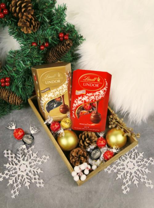 浓情蜜意 礼遇融情LINDOR瑞士莲软心巧克力,甜蜜每一个