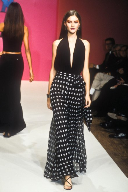 Gisele Bundchen at Yves Saint Laurent,1998