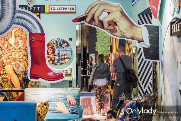 图片说明九:M&O巴黎时尚家居设计展展览现场二
