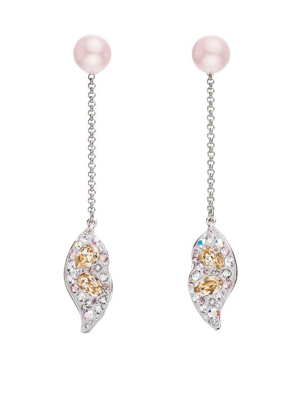 AS APAC Core, Graceful Bloom Detachable Pierced Earring,Light Silk,1